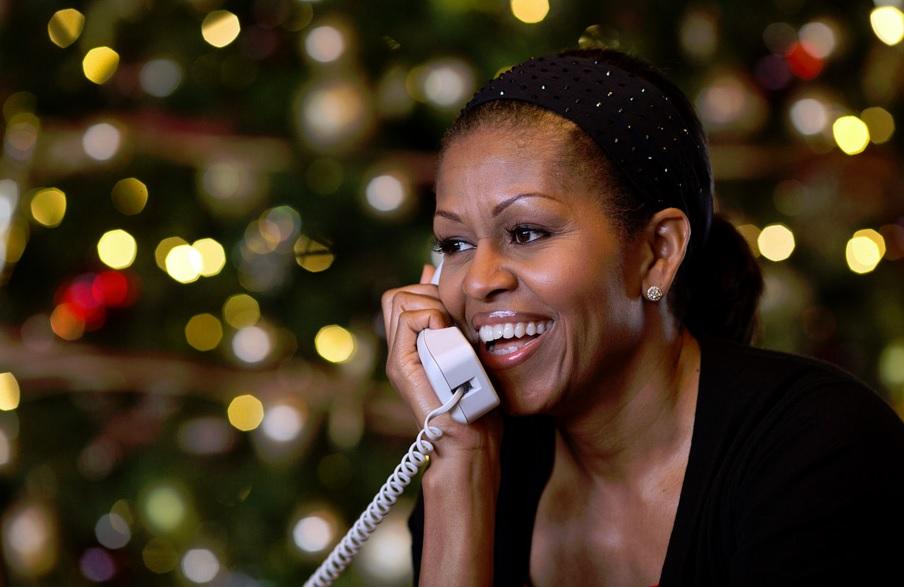 Michelle Obama, você vai se candidatar à presidência dos Estados Unidos?