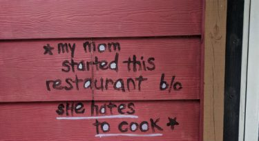 O que aprendi com a parede de um restaurante em Austin